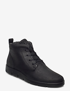 BELLA - flat ankle boots - black
