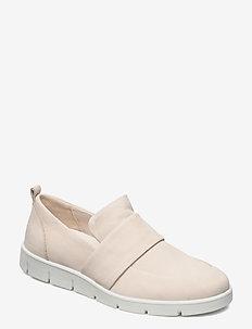 BELLA - slip-on sneakers - limestone