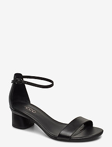 ELEVATE 45 BLOCK SANDAL - heeled sandals - black