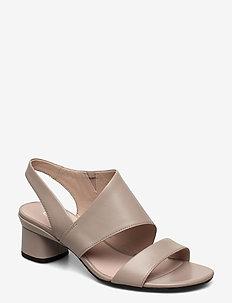 ELEVATE 45 BLOCK SANDAL - højhælede sandaler - grey rose