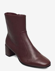 SHAPE SQUARED 35 - ankelstøvler med hæl - chocolat
