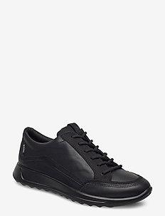 FLEXURE RUNNER W - low top sneakers - black/black