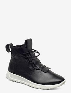 FLEXURE RUNNER W - höga sneakers - black