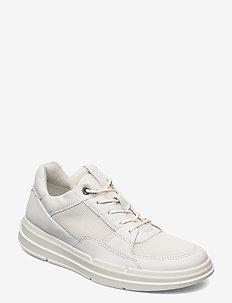 SOFT X W - låga sneakers - white/white