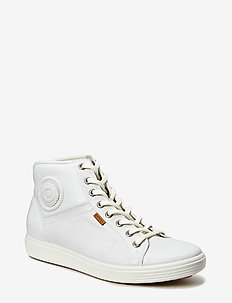 SOFT 7 W - high top sneakers - white