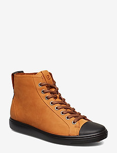 SOFT 7 W - high top sneakers - black/amber