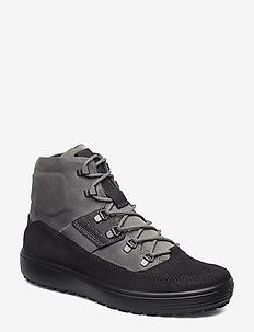 SOFT 7 TRED M - laced boots - black/titanium