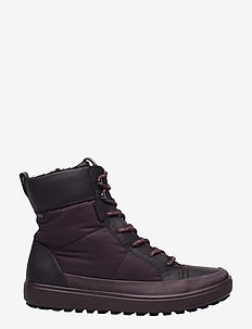 SOFT 7 TRED W - flat ankle boots - fig/fig/fig