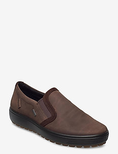 SOFT 7 TRED M - slip-on sneakers - coffee/coffee