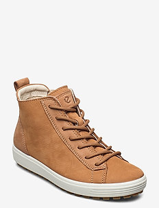 SOFT 7 TRED W - høje sneakers - cashmerevanilla/cashmere