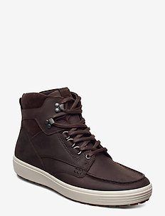 SOFT 7 TRED M - laced boots - mocha/coffee