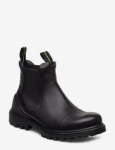 TREDTRAY W - chelsea boots - black