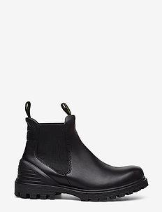 TREDTRAY W - chelsea støvler - black
