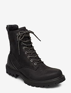 TREDTRAY M - laced boots - black