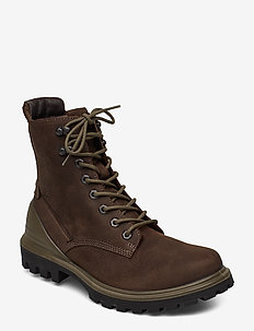 TREDTRAY M - laced boots - coffee
