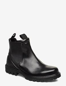 TREDTRAY M - chelsea boots - black