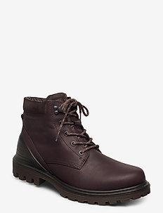 TREDTRAY M - vinter boots - coffee/licorice
