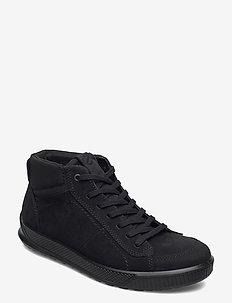 BYWAY - high tops - black/black