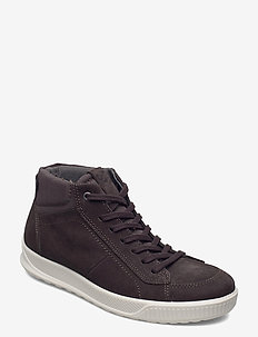 BYWAY - hoog sneakers - licorice/shale