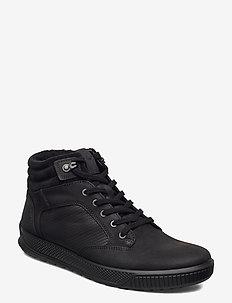 BYWAY TRED - høje sneakers - black/black/black