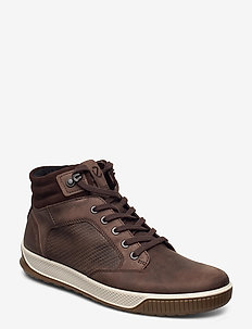 BYWAY TRED - høje sneakers - coffee/coffee/coffee