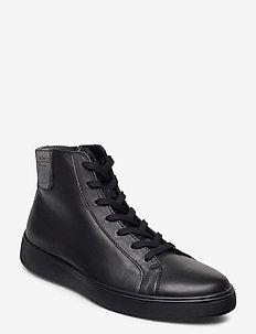 STREET TRAY M - höga sneakers - black/magnet