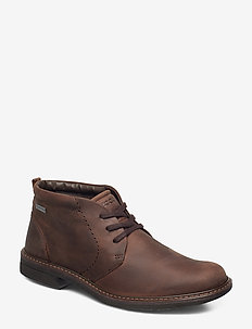 TURN - desert boots - cocoa brown