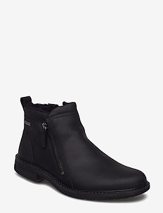 TURN - chelsea boots - black