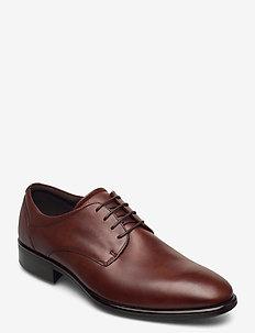 CITYTRAY - laced shoes - cognac