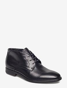 MELBOURNE - desert boots - black/magnet