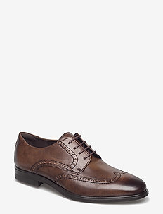 MELBOURNE - brogues - cocoa brown