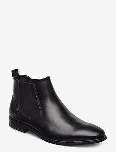 MELBOURNE - chelsea boots - black
