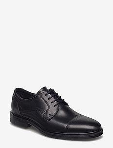 LISBON - laced shoes - black