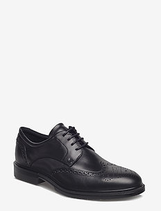 LISBON - brogues - black