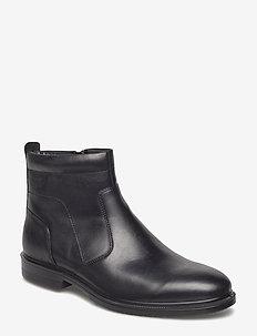 LISBON - chelsea boots - black
