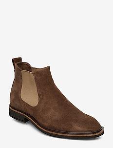 VITRUS II - chelsea boots - dark clay