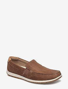 RECIPRICO - loafers - mahogany