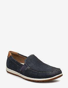 RECIPRICO - loafers - marine