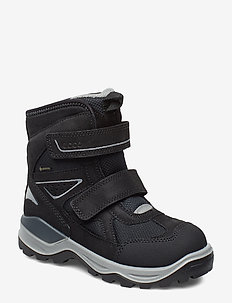 SNOW MOUNTAIN - vinter boots - black/black