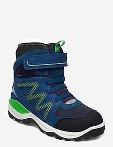 SNOW MOUNTAIN - winter boots - black/poseidon/poseidon
