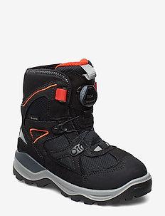 SNOW MOUNTAIN - winter boots - black/black