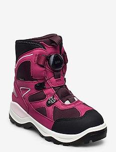 SNOW MOUNTAIN - bottes d'hiver - black/sangria