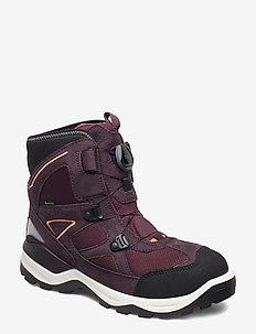 SNOW MOUNTAIN - winterstiefel - black/fig