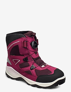 SNOW MOUNTAIN - winterstiefel - black/sangria