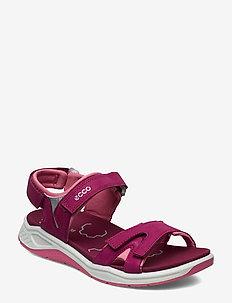 X-TRINSIC K - sandals - sangria