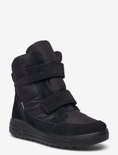 URBAN SNOWBOARDER - winter boots - black/black