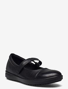 ELLI - ballerinaer og slip-ons - black/black