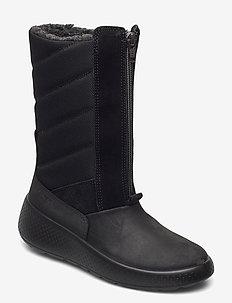 UKIUK KIDS - winter boots - black/black