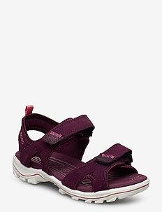 URBAN SAFARI KIDS - sandals - aubergine