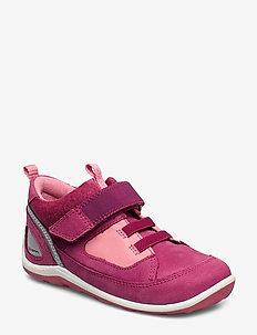 BIOM MINI SHOE - laag sneakers - sangria/bubblegum